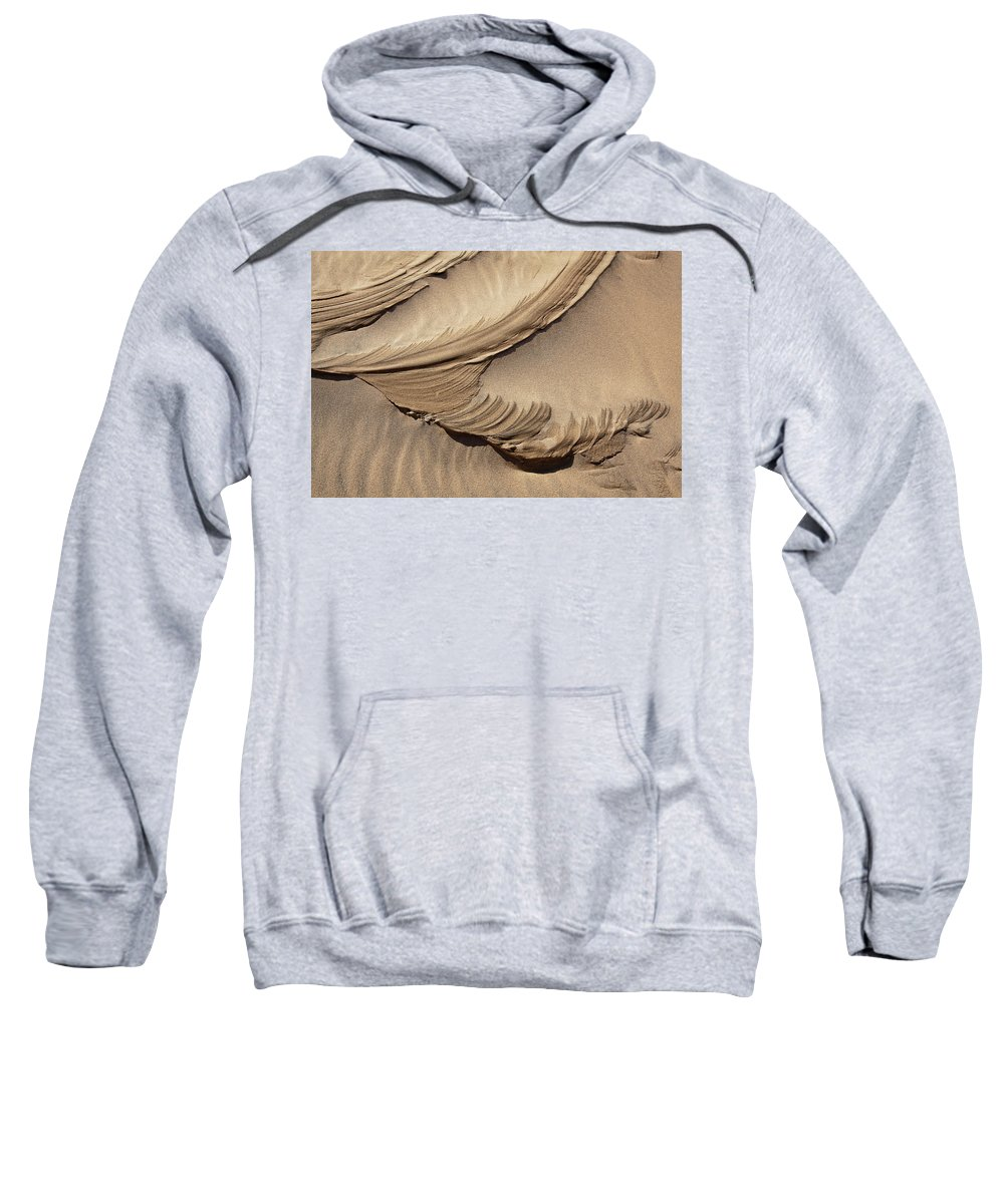 Sand Sweatshirt featuring the photograph Wind Creation by Kelley King