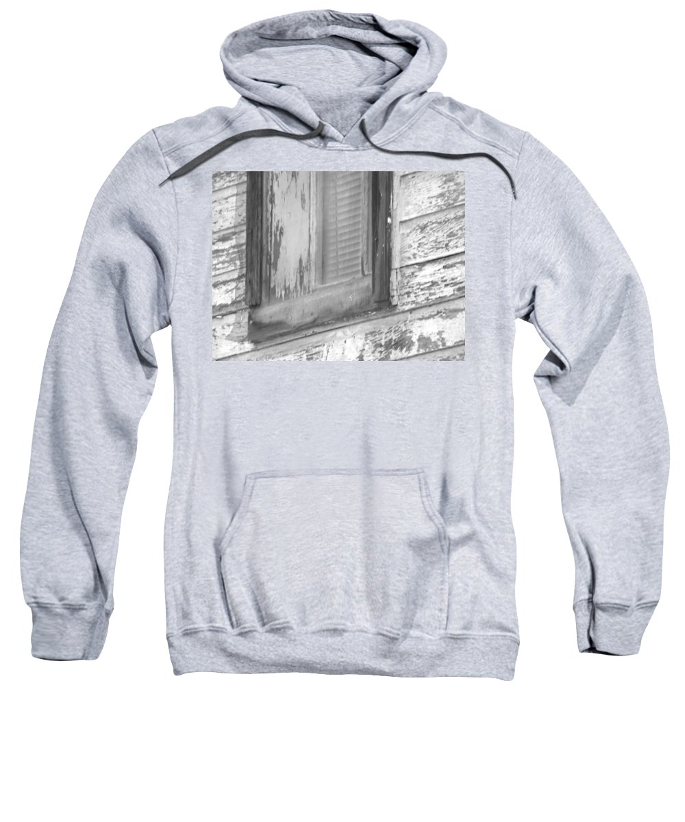 Abstract Sweatshirt featuring the photograph Window With Screen by Lenore Senior