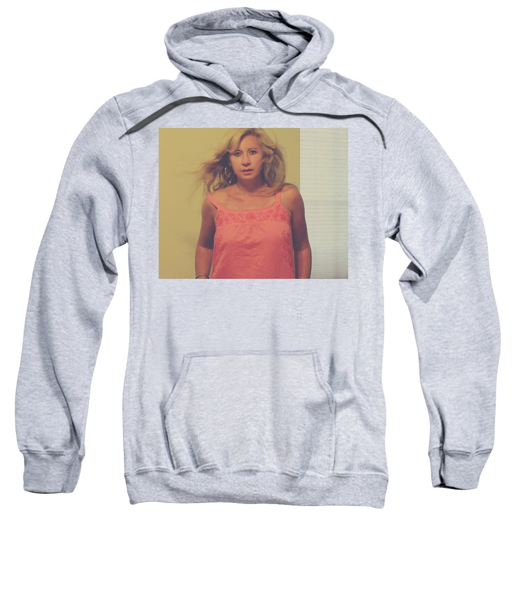 Woman Sweatshirt featuring the photograph You'll Be Here In Me by Laurie Search