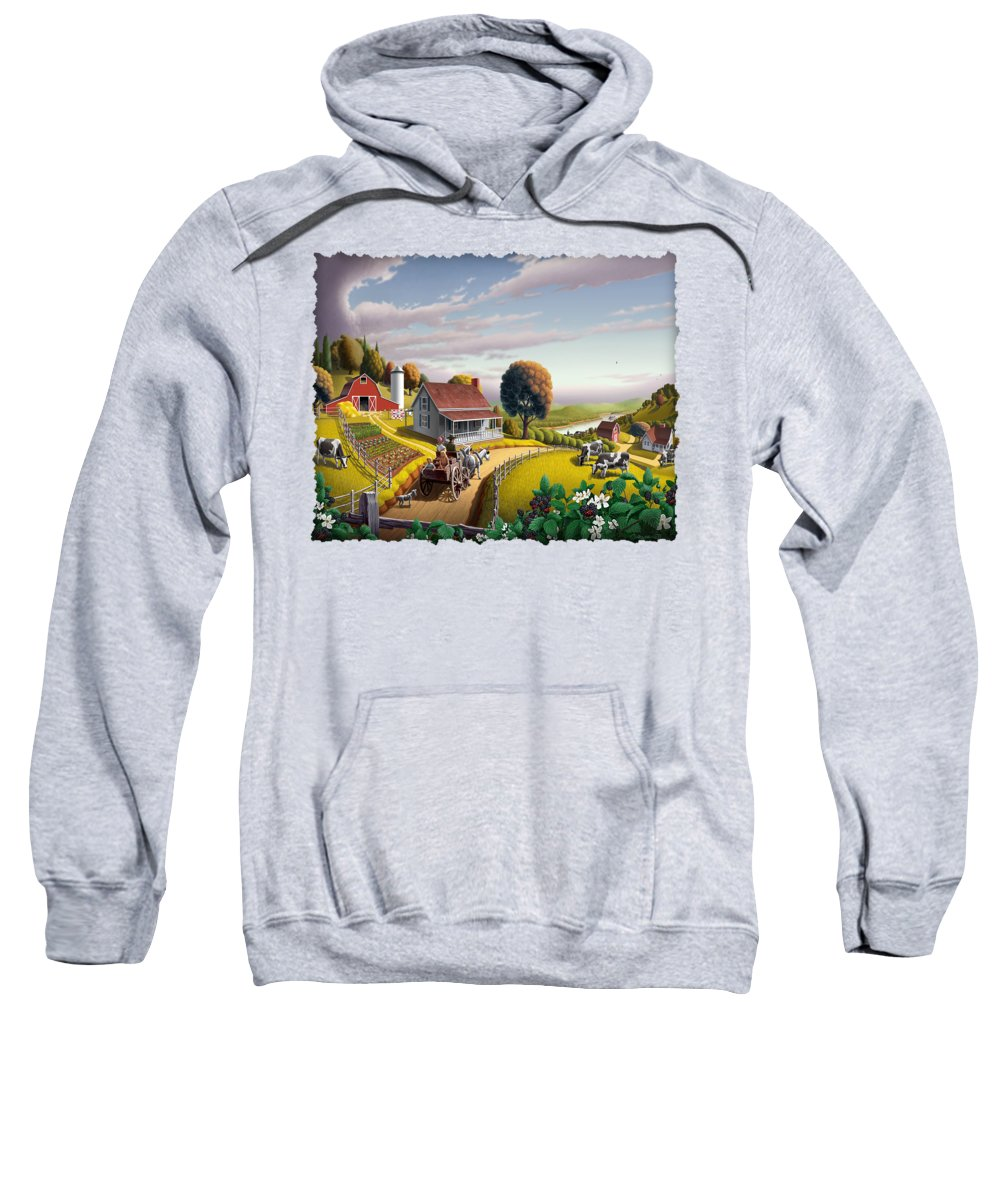 Nostalgic Hooded Sweatshirts T-Shirts