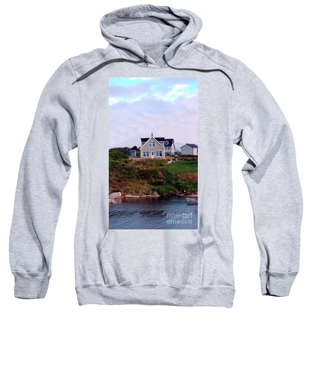 Small Sweatshirt featuring the photograph House by Kathleen Struckle