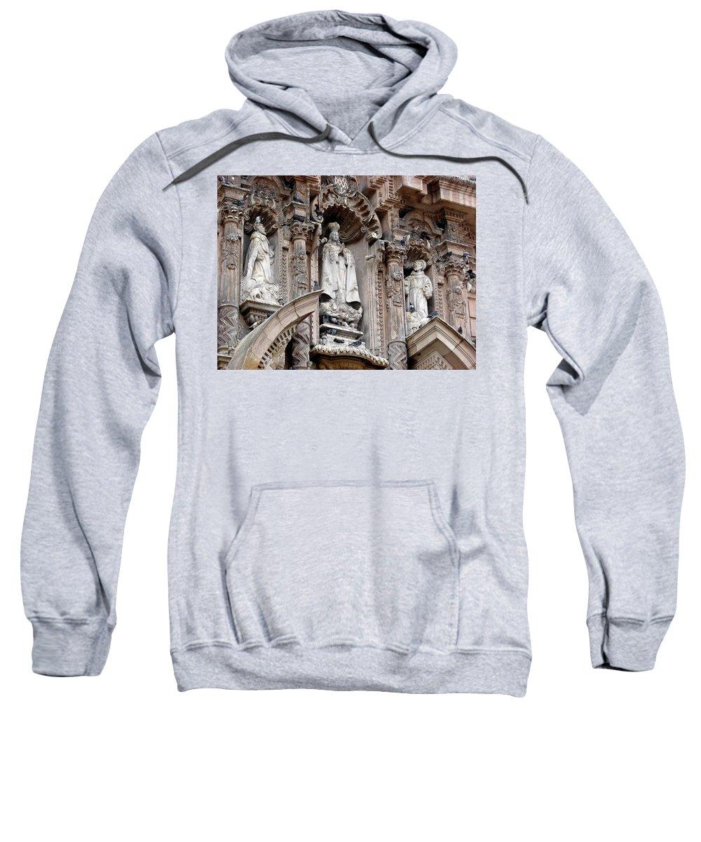 Lima Sweatshirt featuring the photograph Lima Peru Church II by Brett Winn