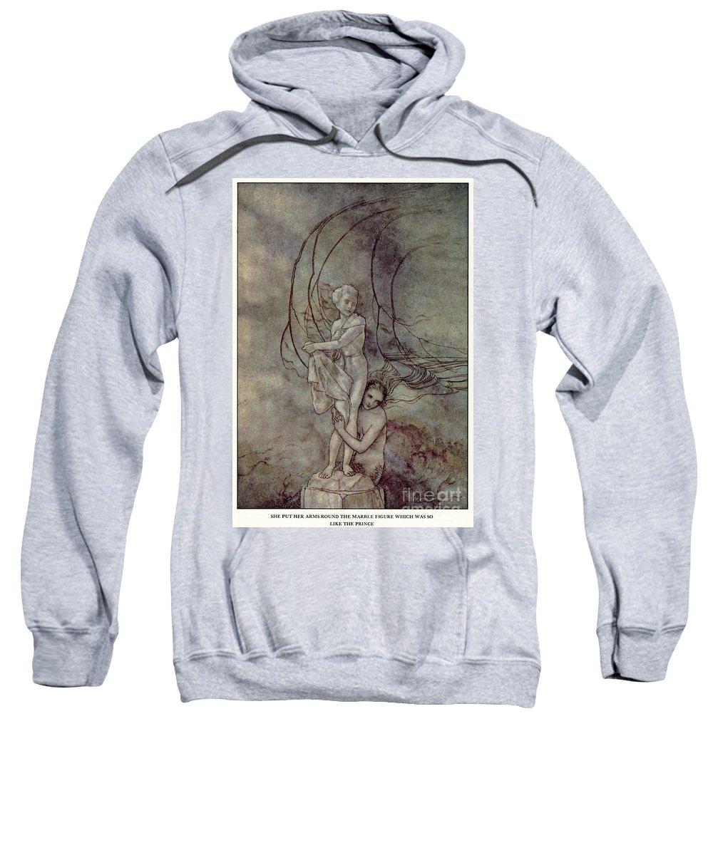19th Century Sweatshirt featuring the painting Andersen: Little Mermaid by Granger
