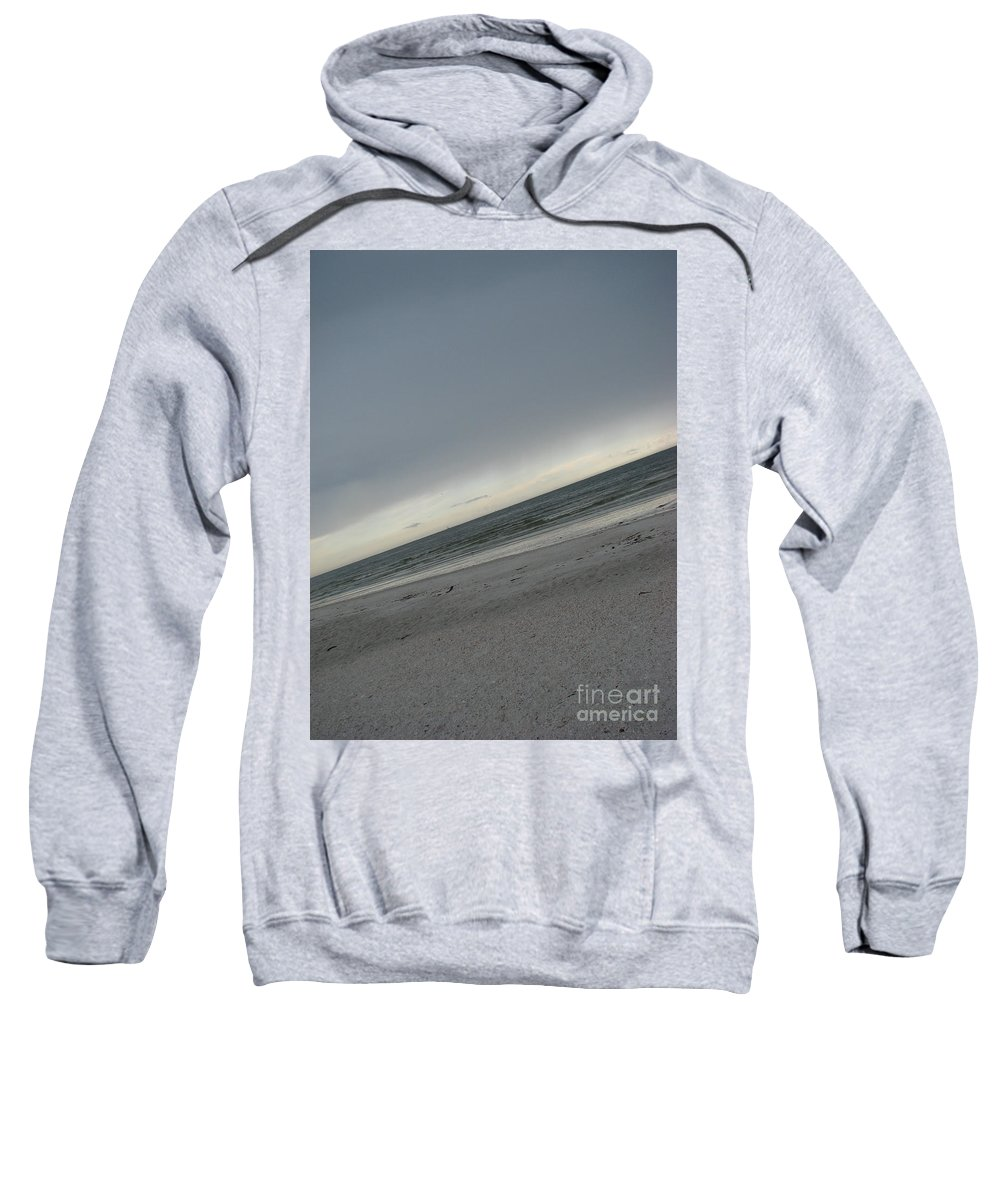 Ocean Sweatshirt featuring the photograph Abstract Sea by Amanda Barcon