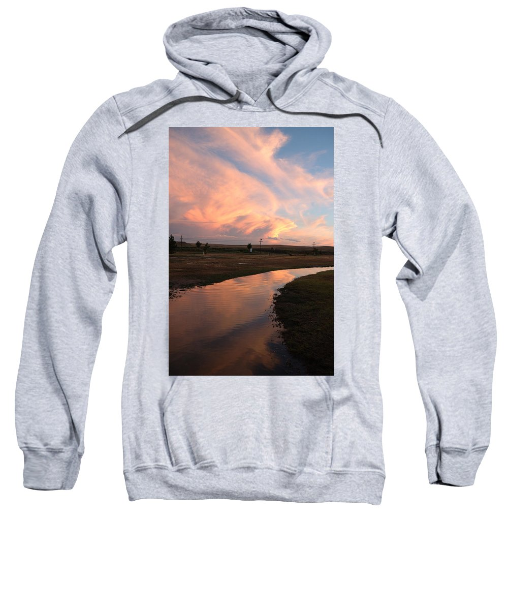 Clouds Sweatshirt featuring the photograph After The Storm by Jerry McElroy
