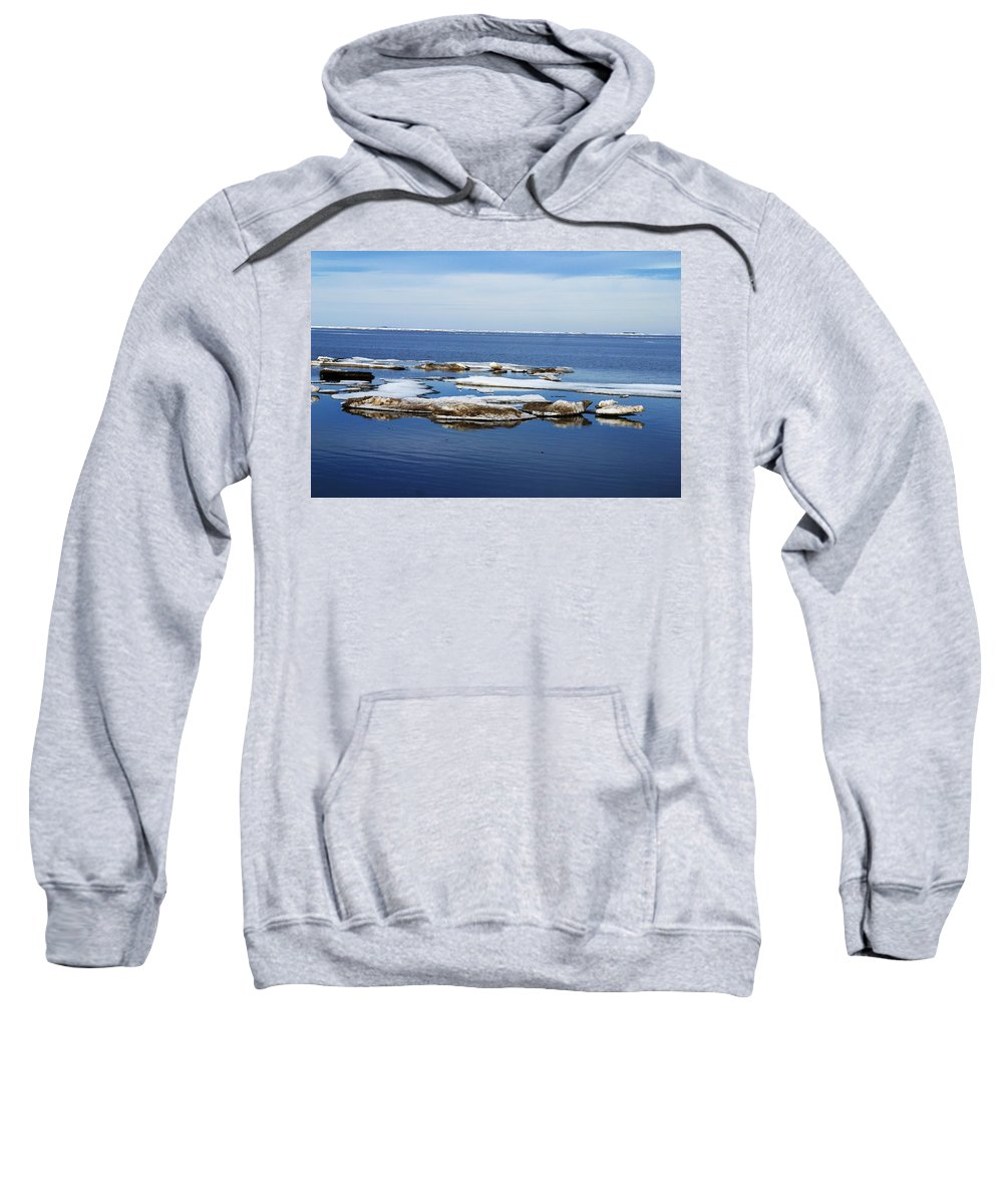 Ice Sweatshirt featuring the photograph Arctic Ice by Anthony Jones