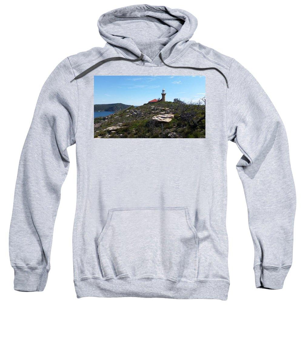 Australia Sweatshirt featuring the photograph Australia - Barrenjoey Lighthouse Landscape by Jeffrey Shaw