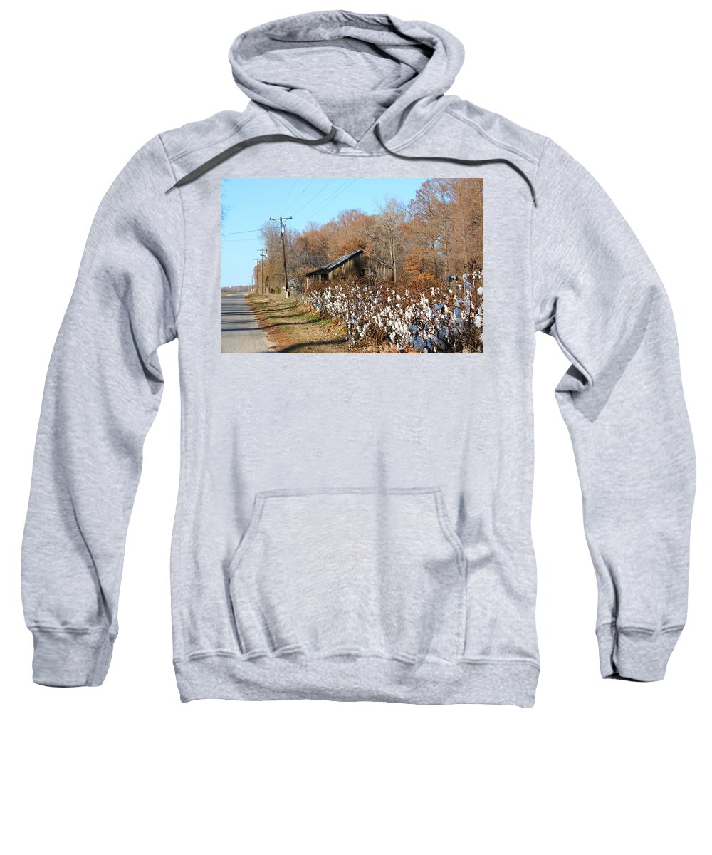 House Sweatshirt featuring the photograph Back Roads Of Ms by Karen Wagner