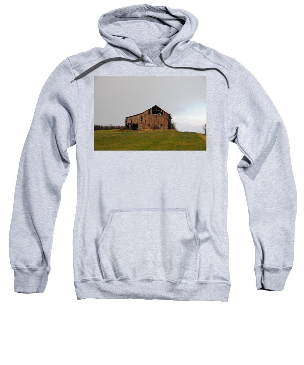 Barn Sweatshirt featuring the photograph Barn by David Arment