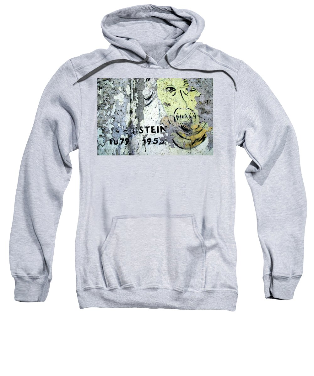 Berlin Sweatshirt featuring the photograph Berlin Wall Mural by KG Thienemann