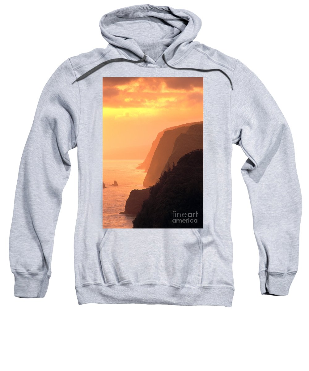 Amaze Sweatshirt featuring the photograph Big Island, View by Greg Vaughn - Printscapes