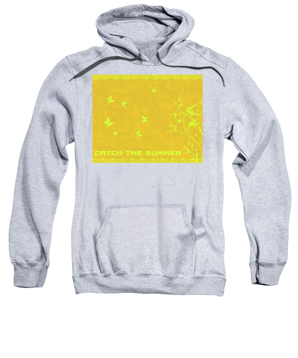 Butterfly Sweatshirt featuring the digital art Butterfly by Mery Moon