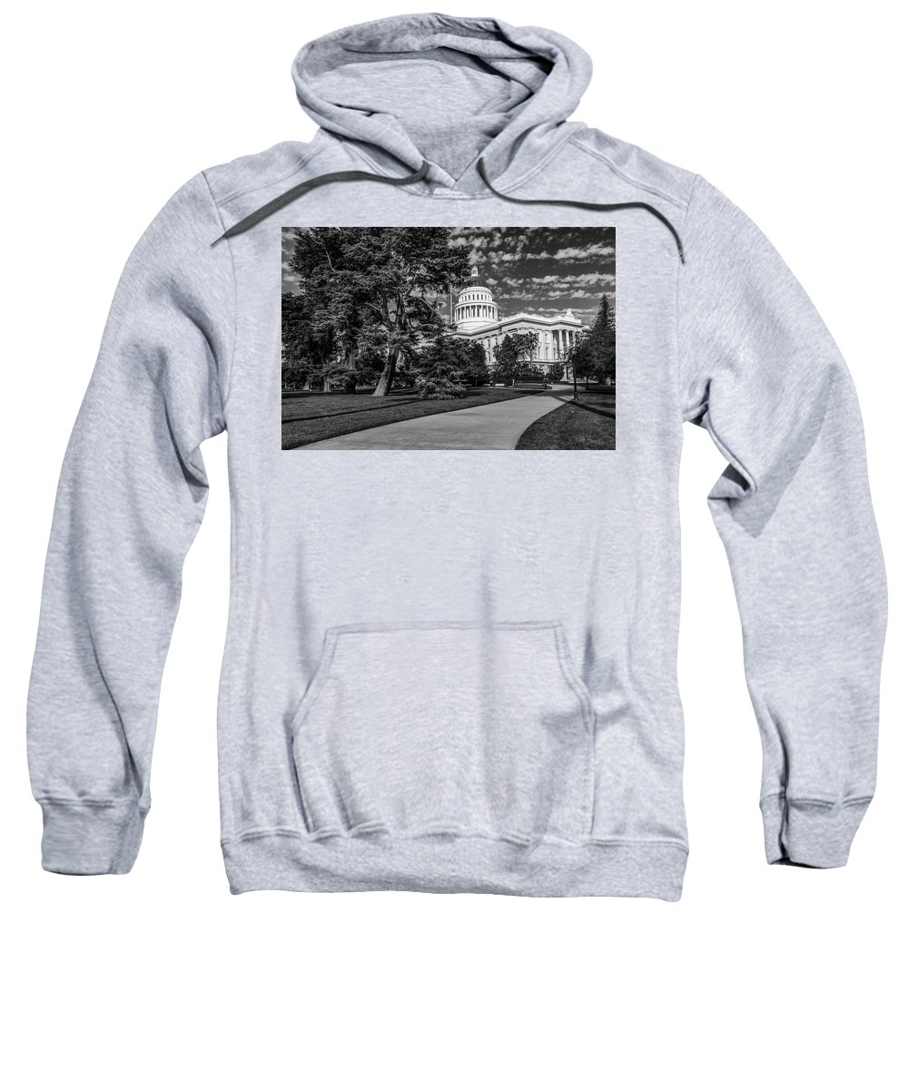 California Sweatshirt featuring the photograph California State Capital by Donald Pash