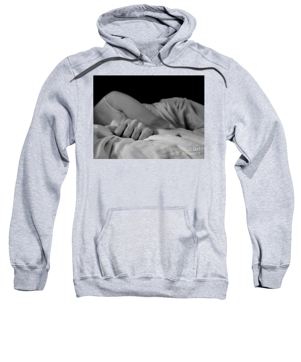 Dipasquale Sweatshirt featuring the photograph Cast Me Gently Into Morning For The Night Has Been Unkind by Dana DiPasquale
