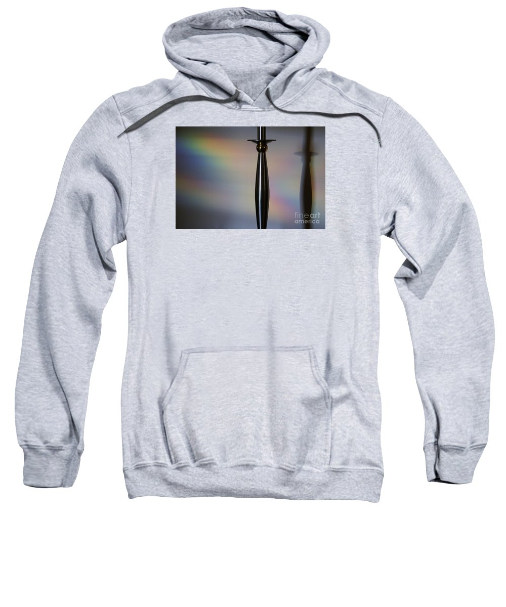 Black Sweatshirt featuring the photograph Casting Shadows by Linda Shafer
