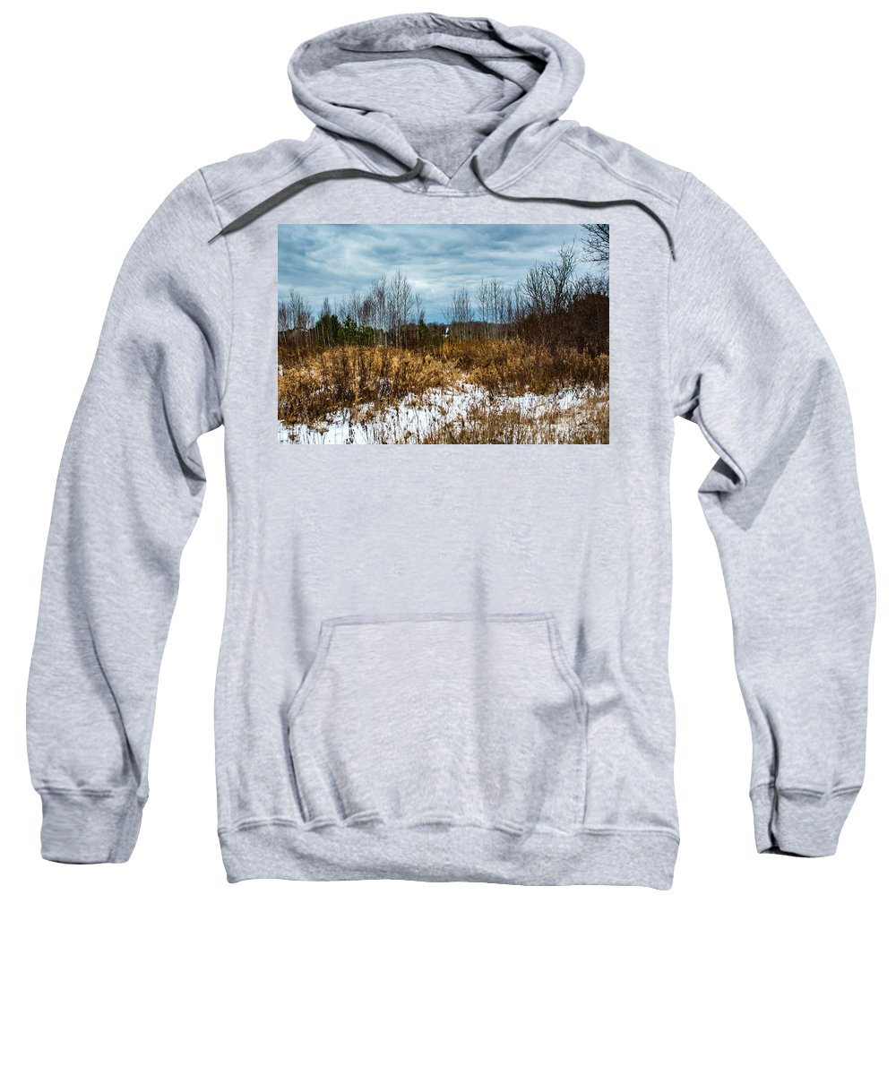 Snow Sweatshirt featuring the photograph Country Winter 3 by Wesley Farnsworth