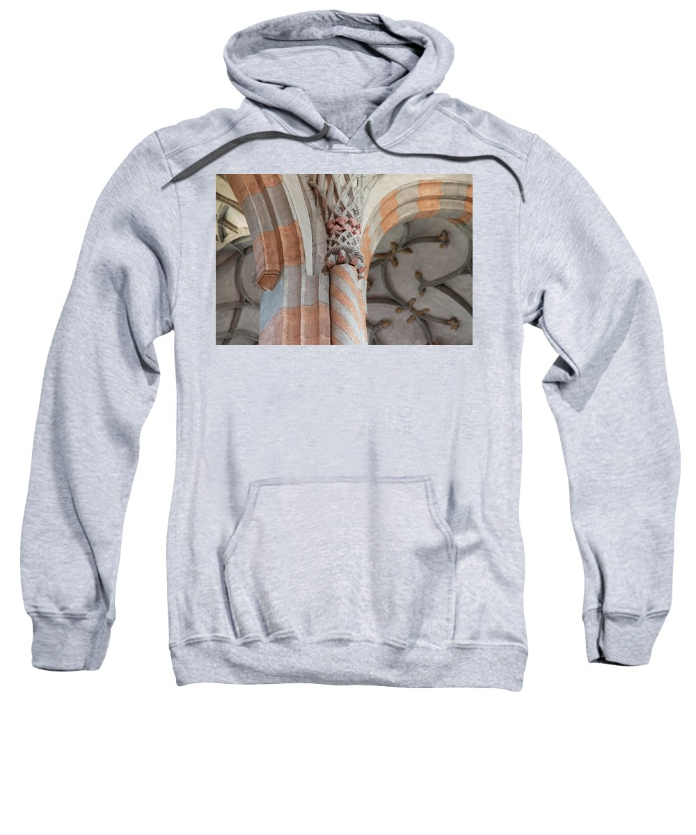 Religious Sweatshirt featuring the photograph Details Of Religious Art by Nicola Simeoni