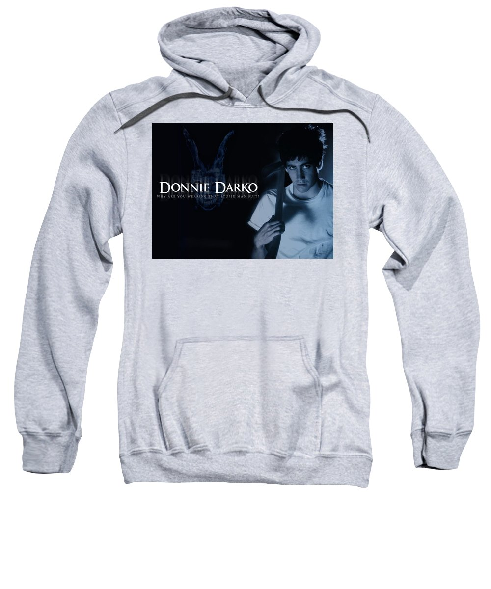 Donnie Darko Sweatshirt featuring the digital art Donnie Darko by Mery Moon