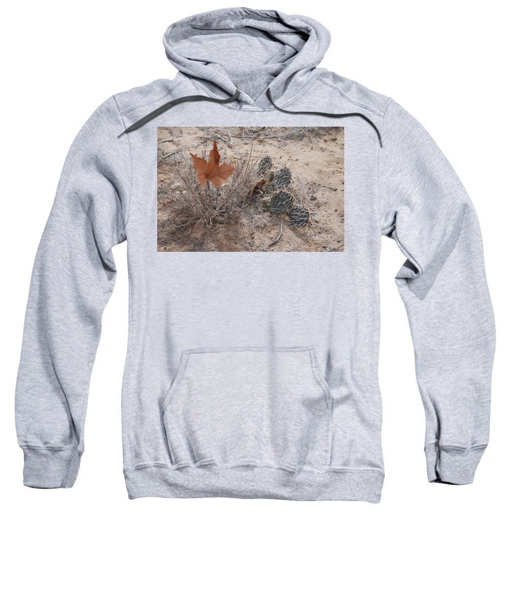 Desert Sweatshirt featuring the photograph East Meets West by Rob Hans