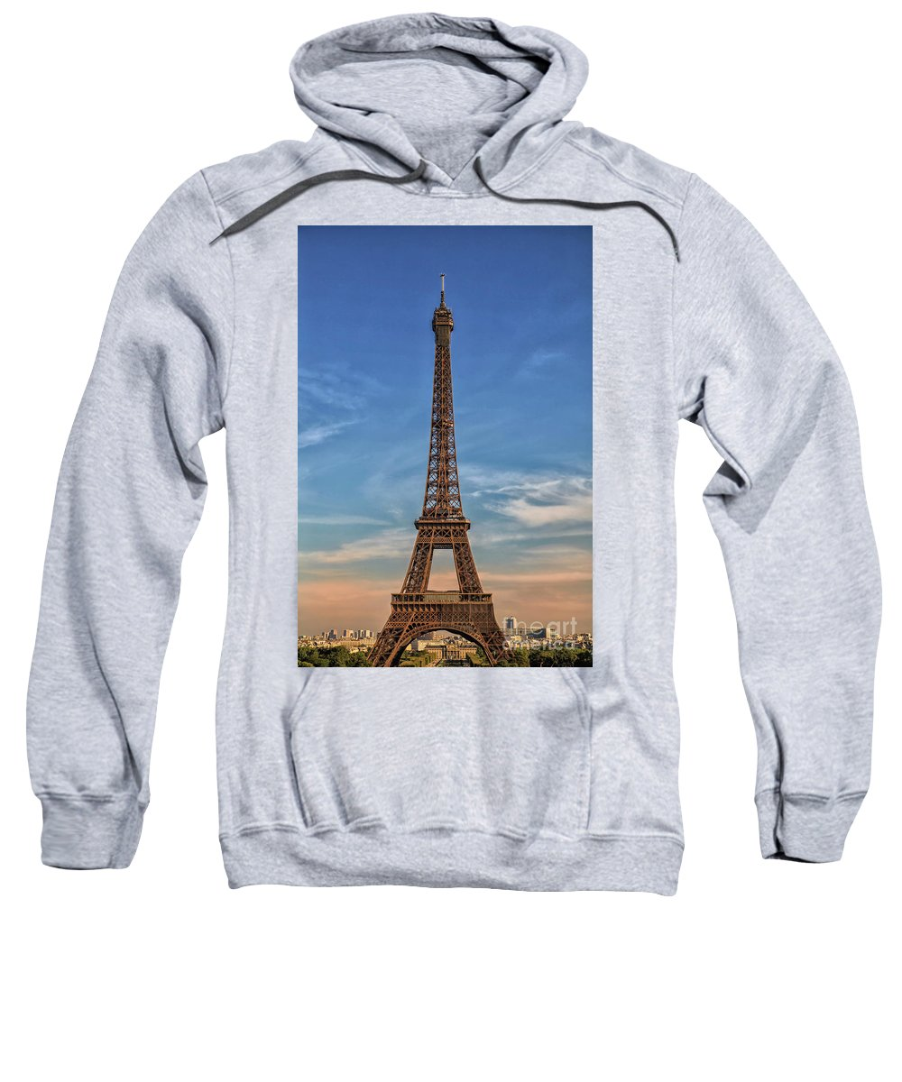 Tower Sweatshirt featuring the photograph Eiffel Tower In France by Patricia Hofmeester