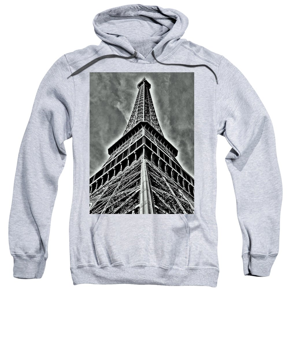 Europe Sweatshirt featuring the photograph Eiffel Tower by Juergen Weiss