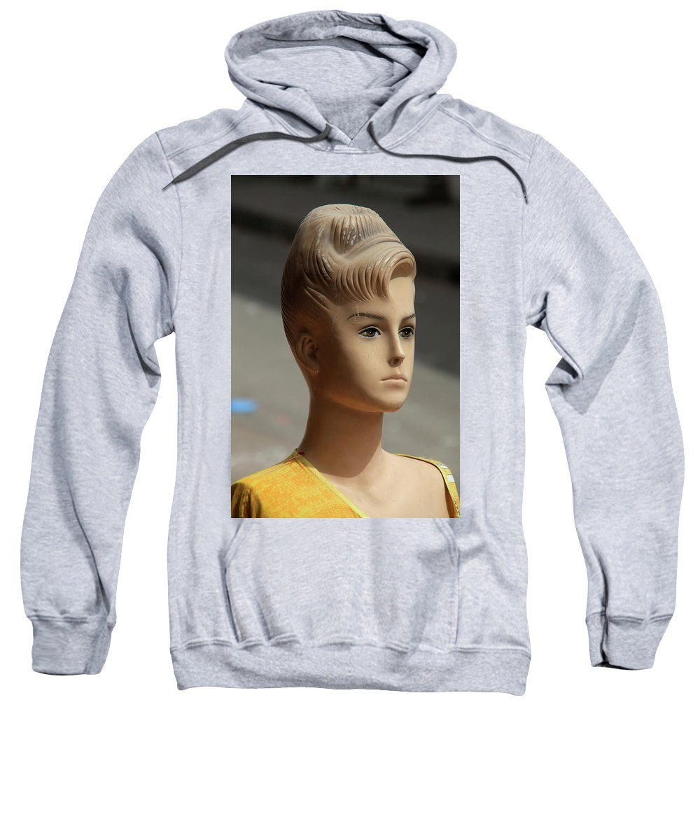 Jezcself Sweatshirt featuring the photograph Elaine by Jez C Self
