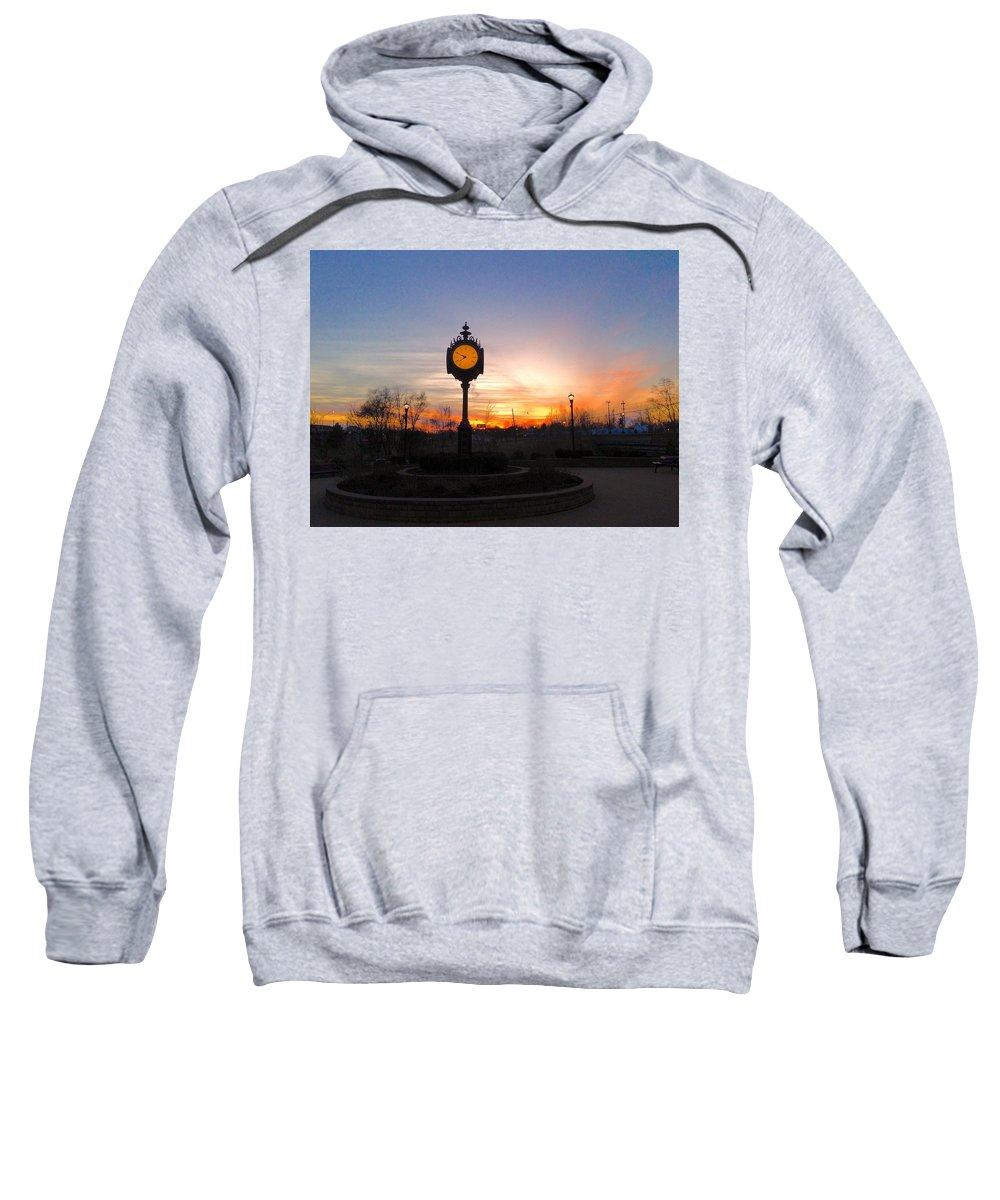 Pure Michigan Sweatshirt featuring the digital art Sunset Fantasy by 2141 Photography