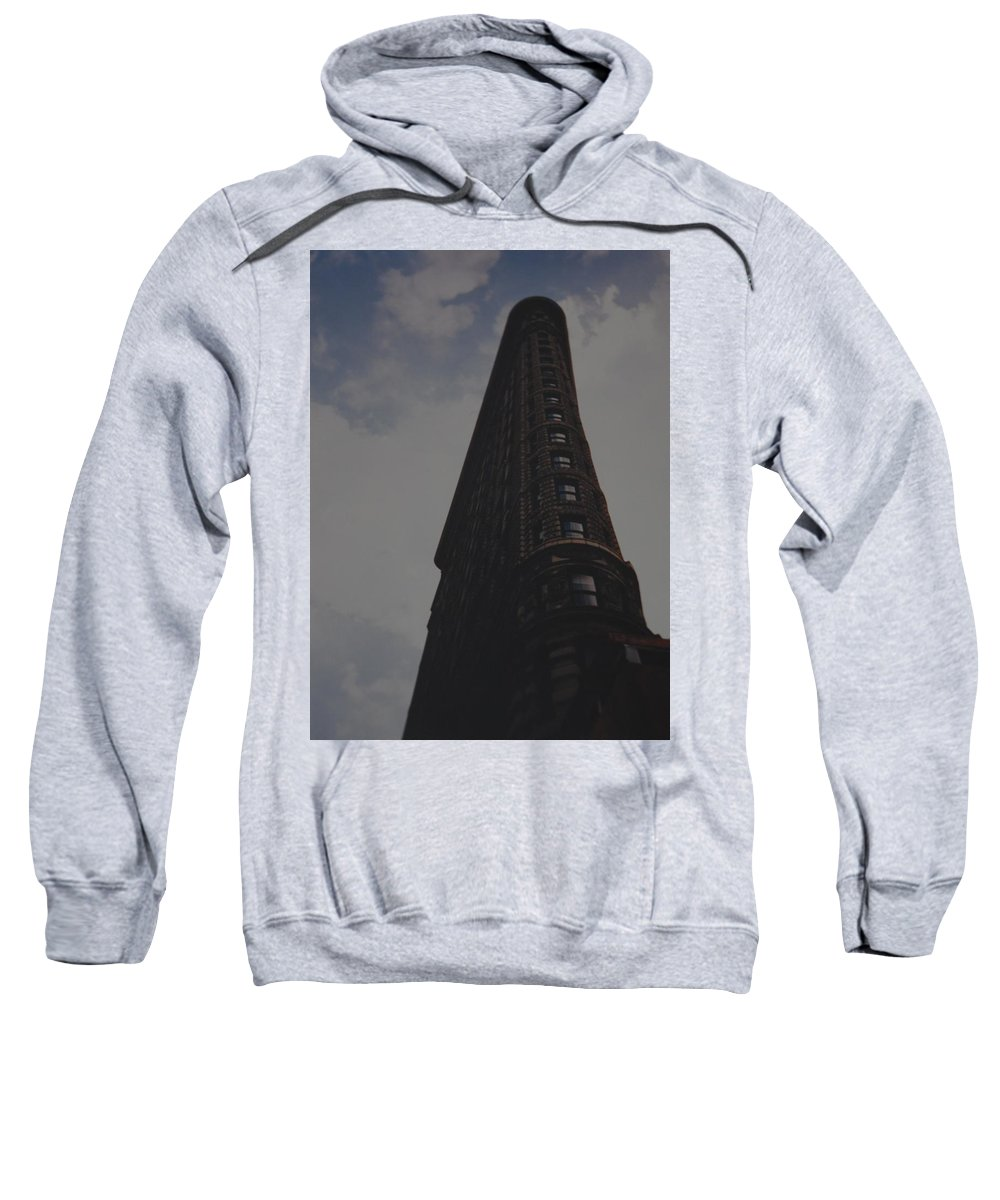 Flat Iron Building Sweatshirt featuring the photograph Flat Iron Building by Rob Hans