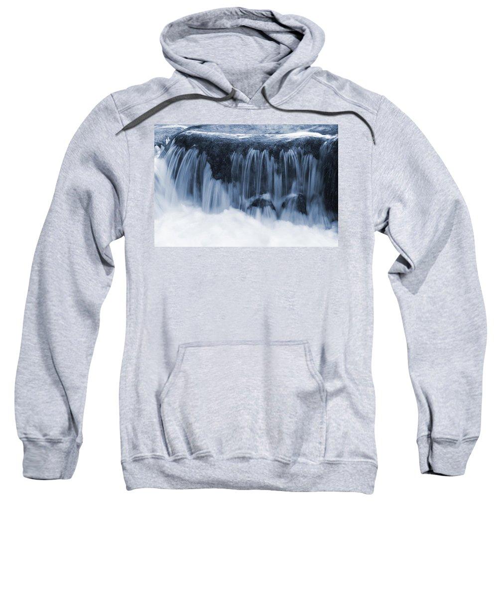 Nature Sweatshirt featuring the photograph Flow II by Daniel Csoka