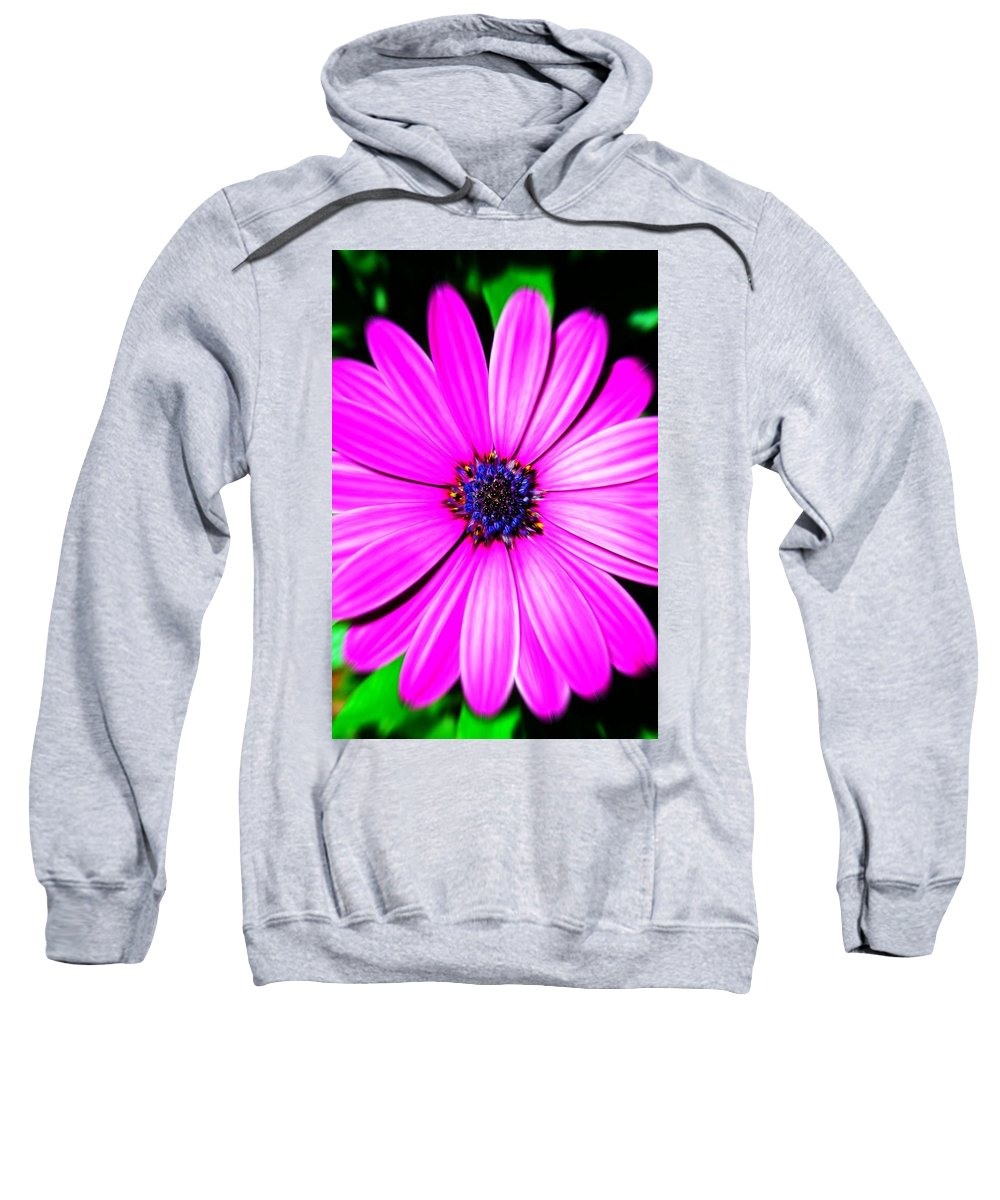 Flower Sweatshirt featuring the photograph For You ... by Juergen Weiss