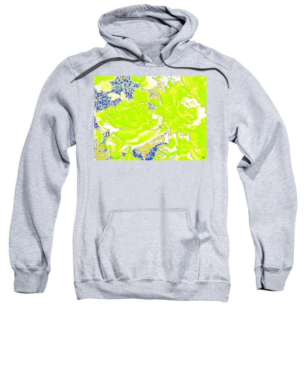 Abstract Sweatshirt featuring the digital art Harmony 31 by Will Borden