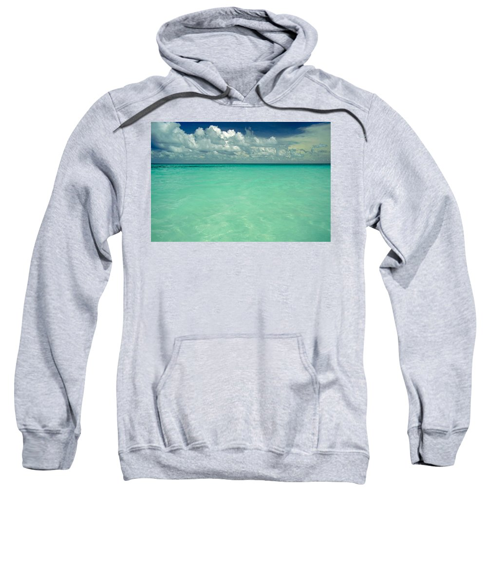 Belize Sweatshirt featuring the photograph Heaven by Skip Hunt