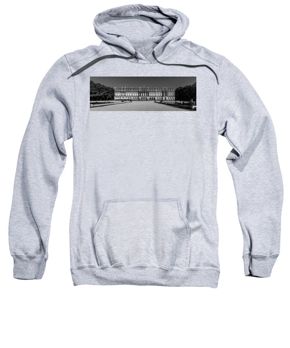 Herrenchiemsee Sweatshirt featuring the photograph Herrenchiemsee Palace - Bavaria by Pixabay