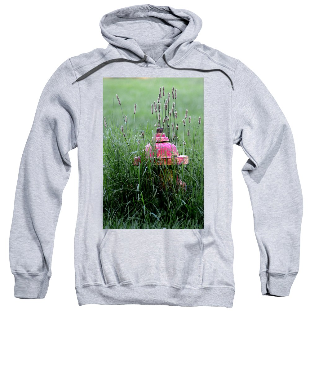Hydrant Sweatshirt featuring the photograph Hydrant by Belinda Stucki