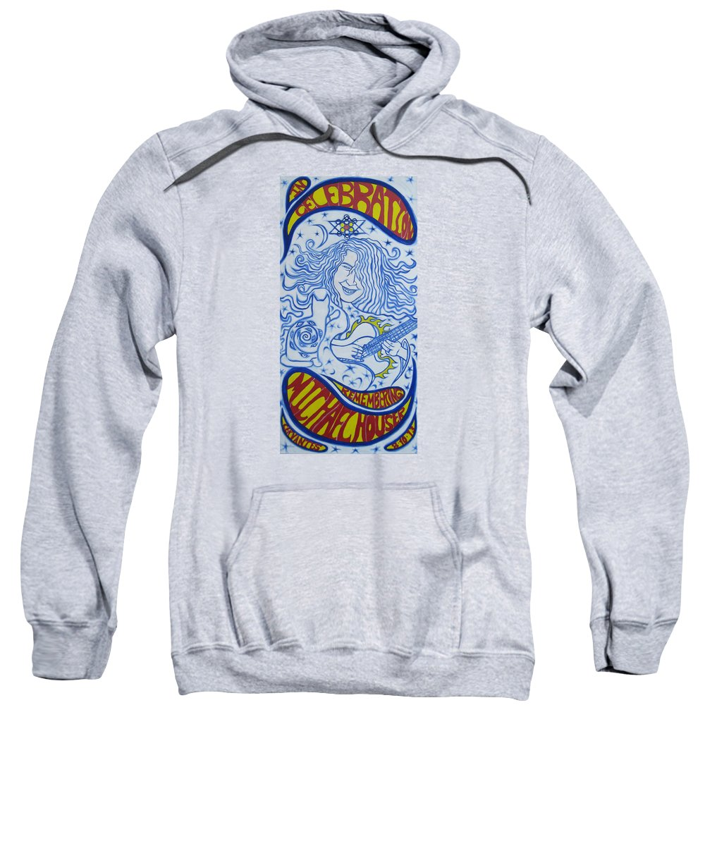 Micheal Sweatshirt featuring the painting In Celebration Of Michael by Artist Alfredo Dane Llana