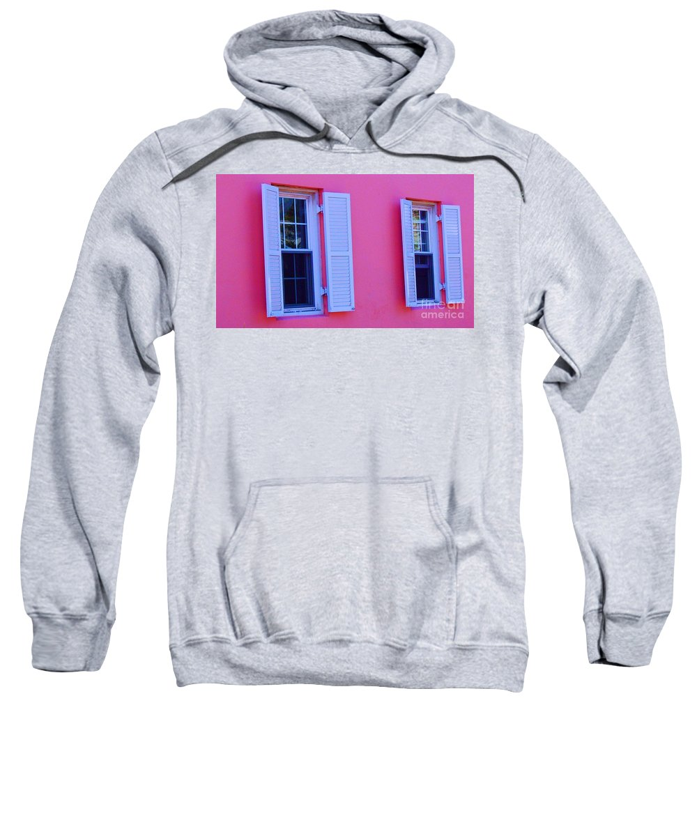 Shutters Sweatshirt featuring the photograph In The Pink by Debbi Granruth