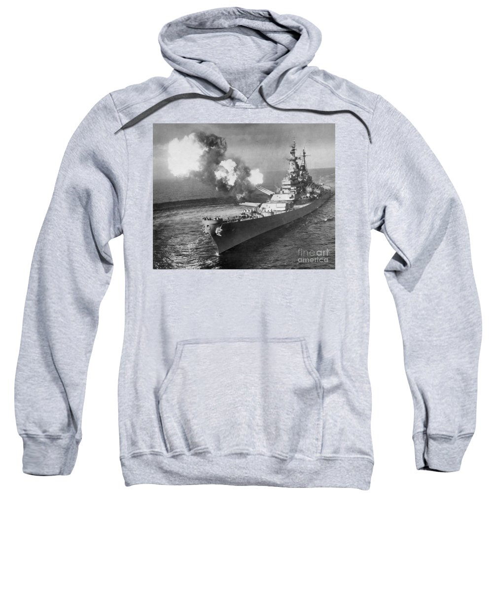 1950 Sweatshirt featuring the photograph Korean War, 1950 by Granger
