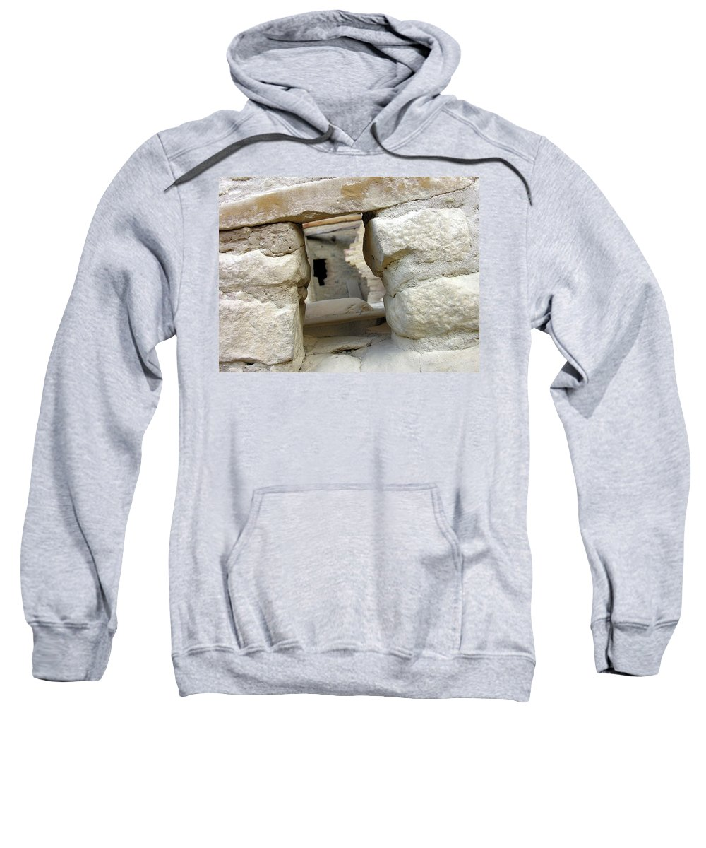 Outdoors Sweatshirt featuring the photograph Looking Into The Past by Adam Vance
