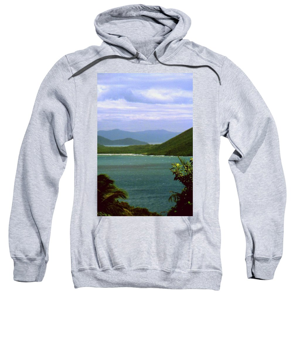 Mountains Sweatshirt featuring the photograph Mountain View by Gary Wonning