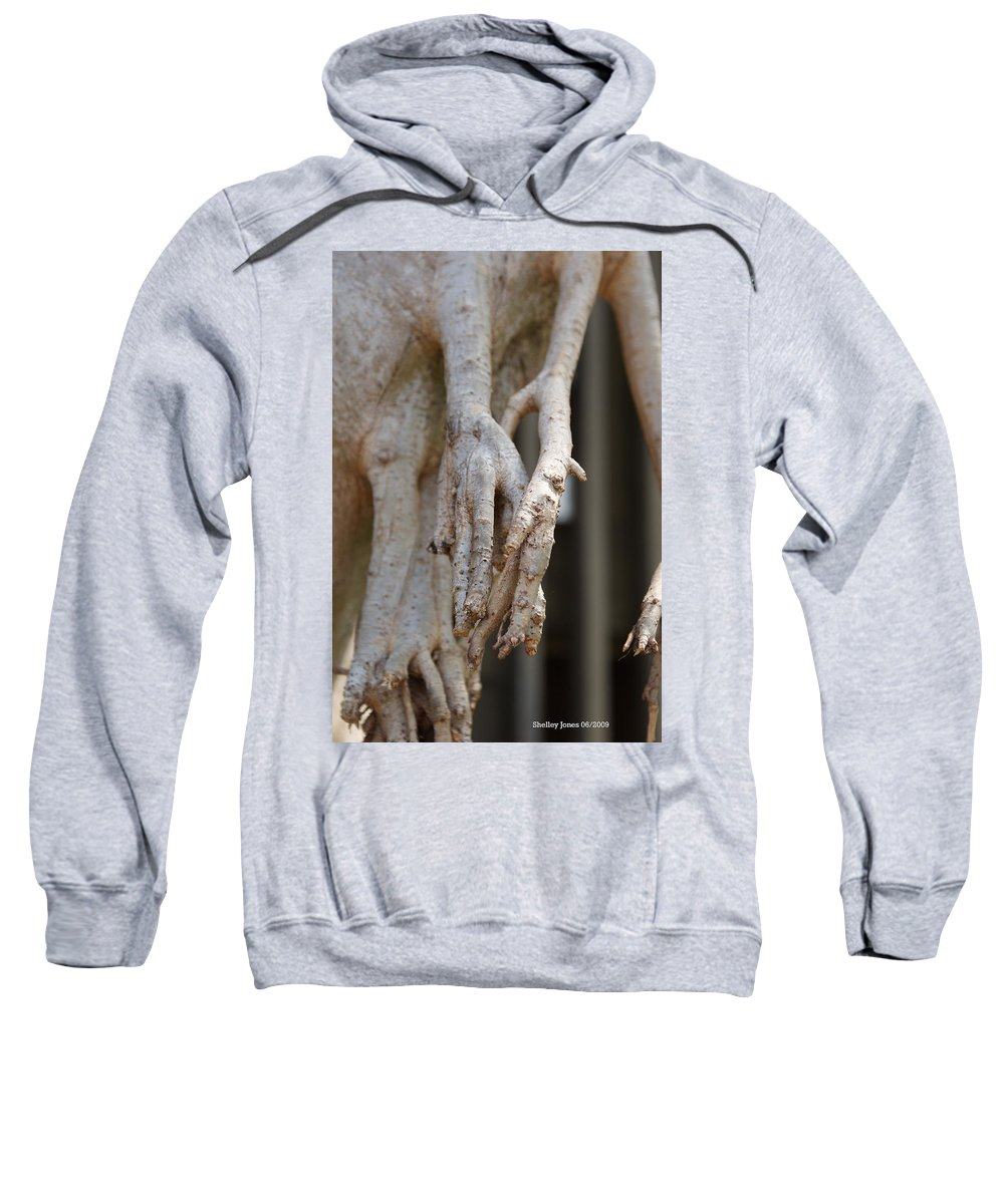 Praying Hands Sweatshirt featuring the photograph Nature by Shelley Jones