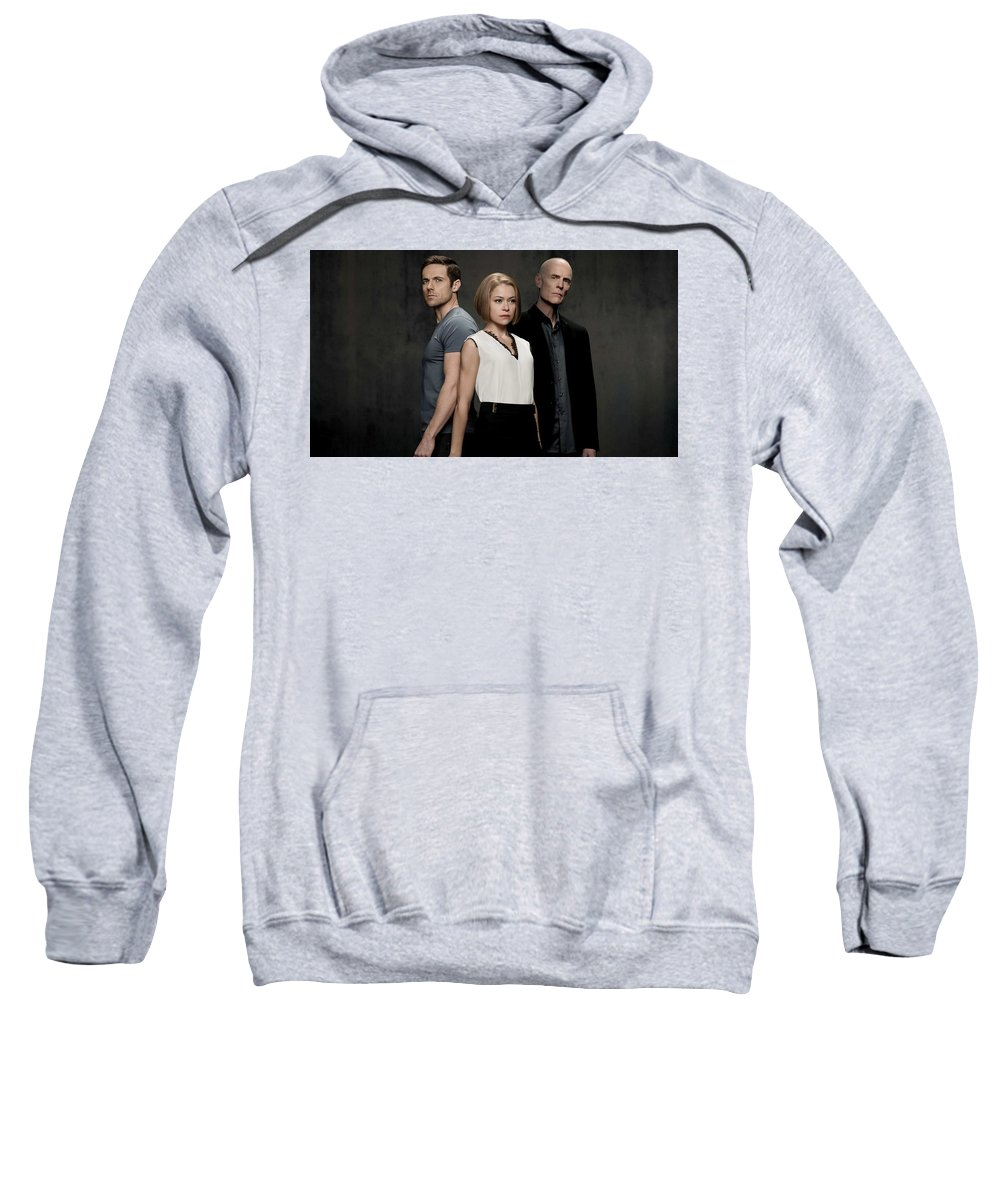 Orphan Black Sweatshirt featuring the digital art Orphan Black by Bert Mailer