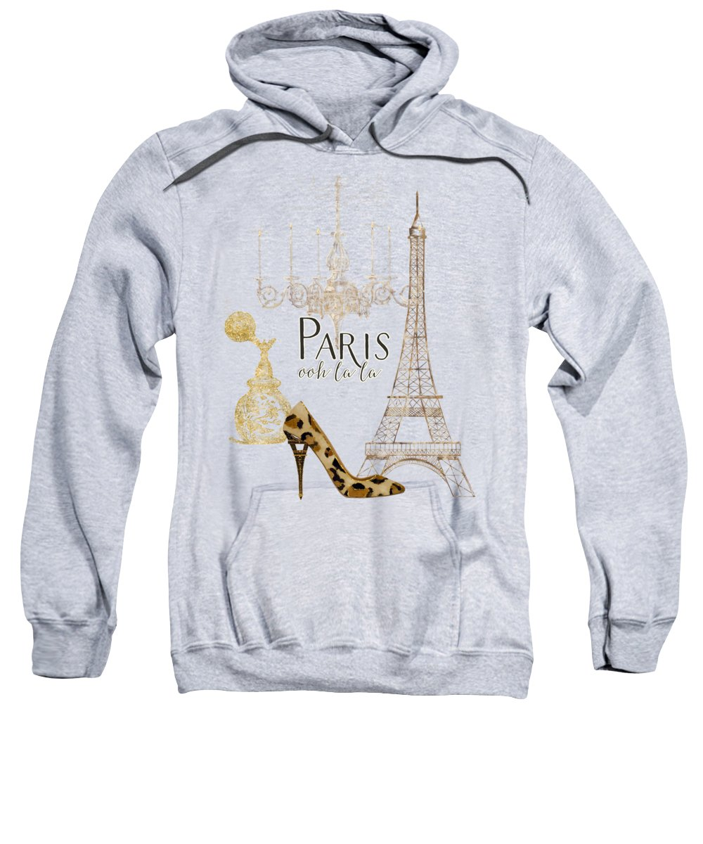 Paris Hooded Sweatshirts T-Shirts