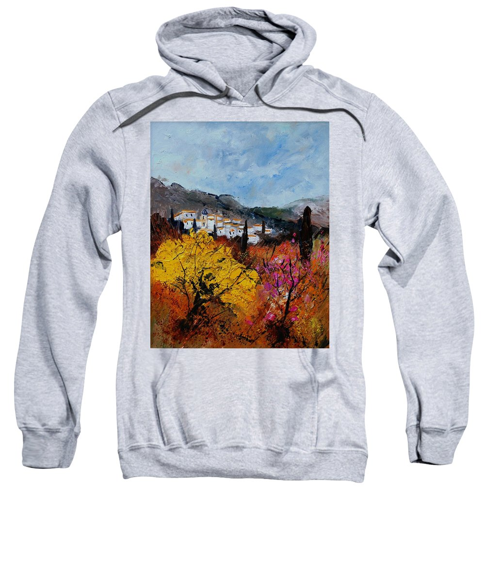 Provence Sweatshirt featuring the painting Provence by Pol Ledent