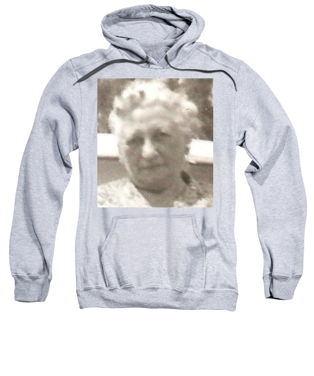 Sweatshirt featuring the photograph Rosa by Carole Spandau