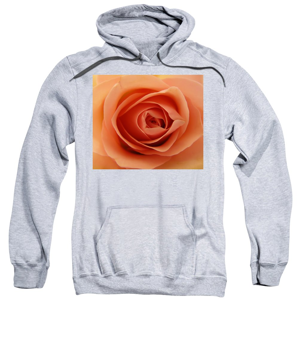Rose Sweatshirt featuring the photograph Rose by Daniel Csoka