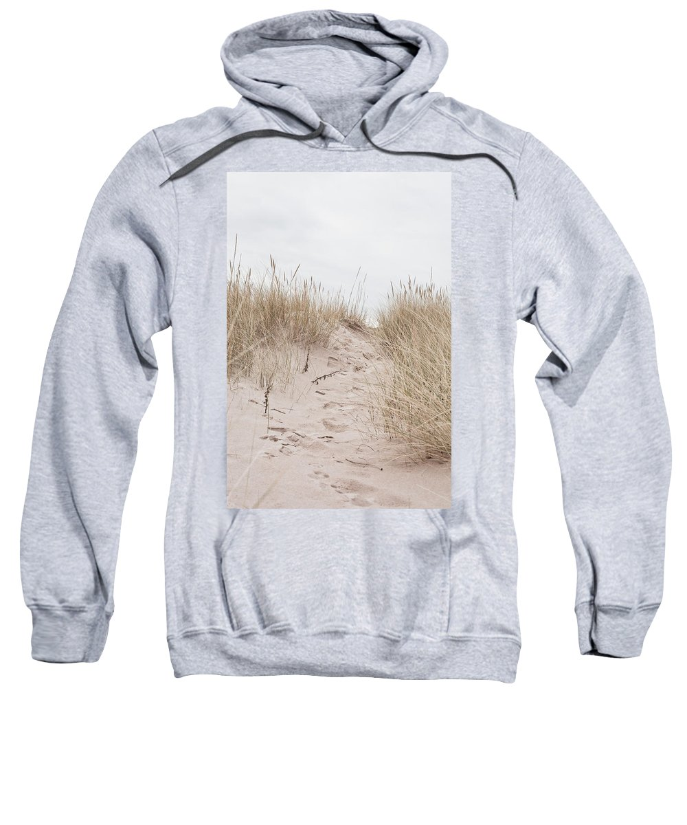 Background Sweatshirt featuring the photograph Sand Dune by Tom Gowanlock