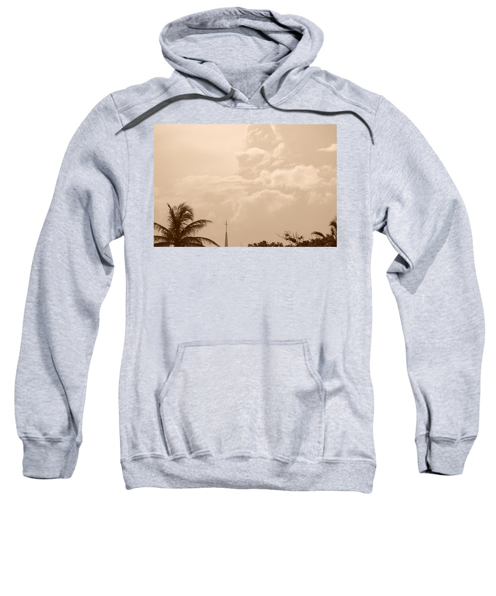 Sepia Sweatshirt featuring the photograph Sepia Sky by Rob Hans