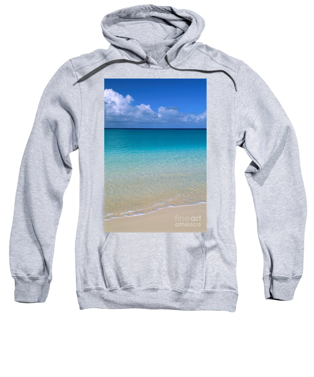 Afternoon Sweatshirt featuring the photograph Shades Of Blue by Greg Vaughn - Printscapes