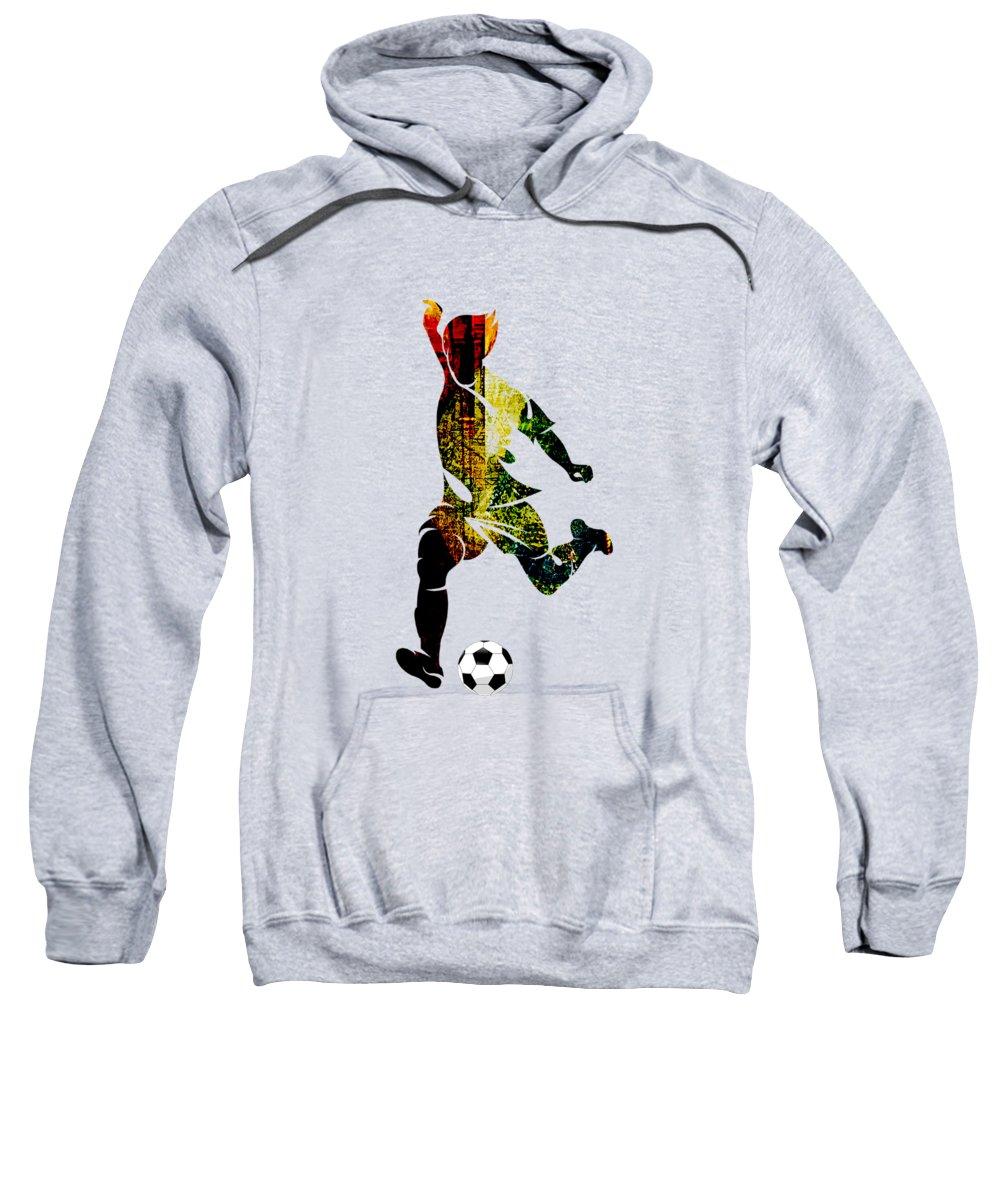 Soccer Hooded Sweatshirts T-Shirts