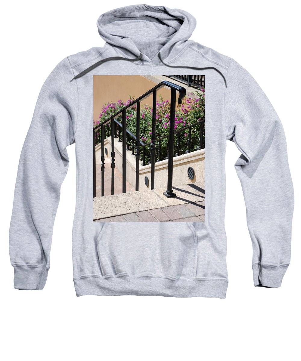 Stairs Sweatshirt featuring the photograph Stairs And Rails by Rob Hans